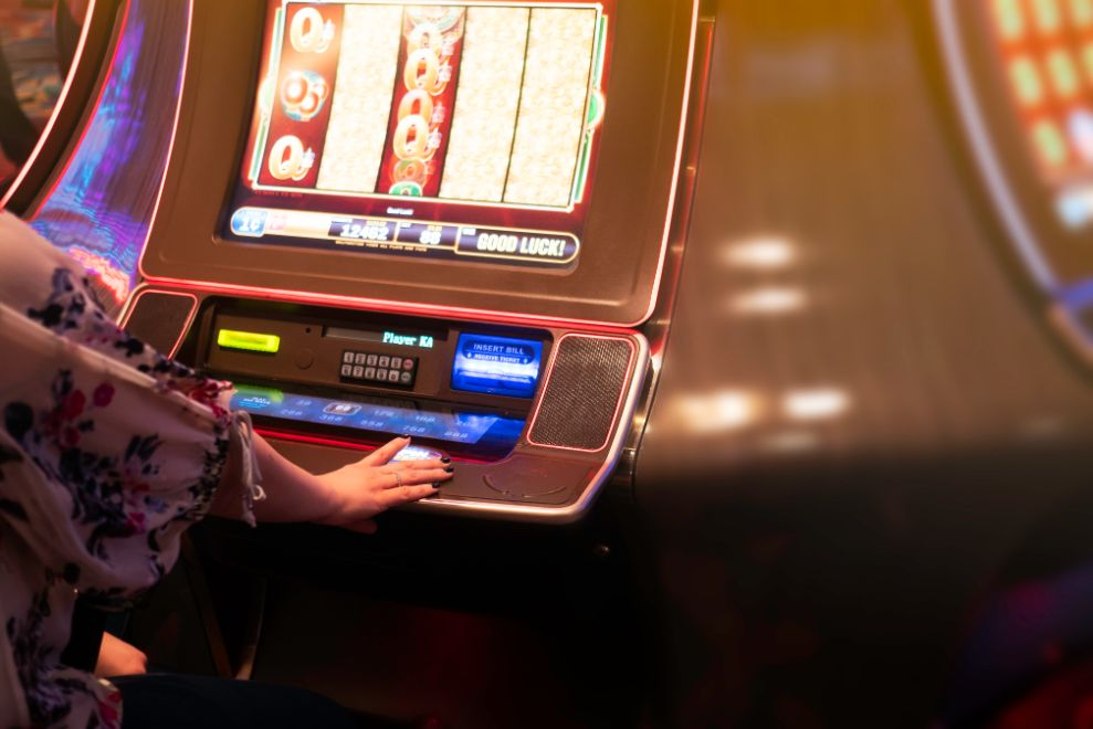 custom slot machine